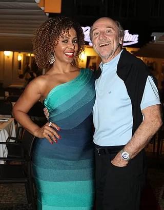Aniversário Boni - Valeria Valenssa e Hans Donner (Foto: Claudio Andrade/Fotorio News)