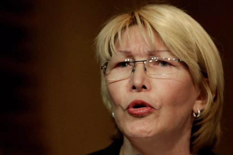 A ex-procuradora-geral da Venezuela, Luisa Ortega (Foto: Associated Press)