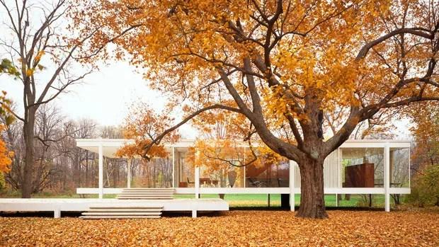 Casa Farnsworth Ludwig Mies Van Der Rohe