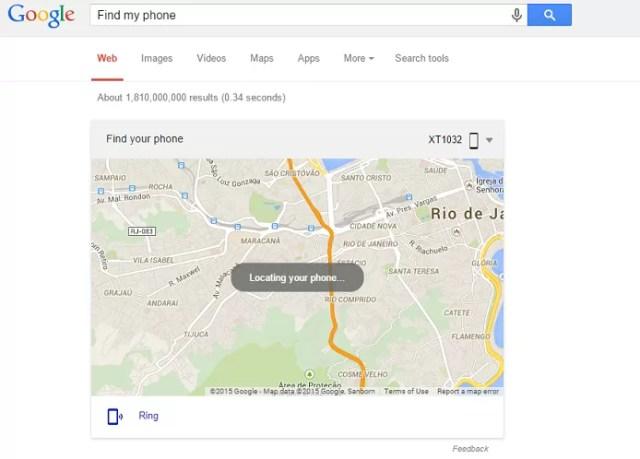 Perdeu o seu smartphone? O Google encontra com a busca 'find my phone'