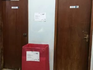 Estudantes de direito da UFT arrecadam alimentos para doar a pacientes do HGP (Foto: Divulgação)