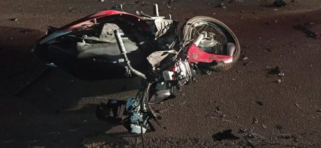 Motociclista morreu no local do acidente, na noite dessa quarta-feira (29), na Estrada da Floresta — Foto: Arquivo/BPTrans