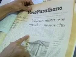 Jornal da época trazia observação como manchete (Foto: Reprodução/TV Vanguarda)