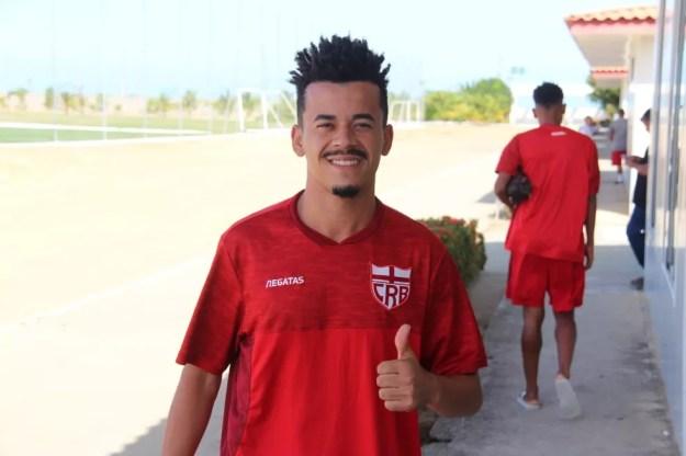 Luidy fica no Galo até o fim do ano — Foto: Denison Roma/GloboEsporte.com