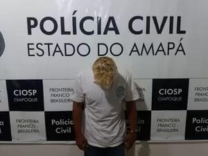 Homem, preso, rapto, abuso sexual, menina, 12 anos, Calçoene, Amapá, Macapá, Oiapoque (Foto: Jéssica Alves/G1)