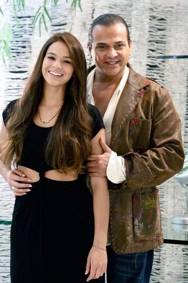 Bruna Marquezine e Flávio Priscott  (Foto: Xan Salvador/ Divulgação)