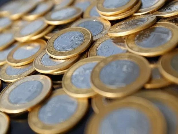 Moedas de 1 Real (Foto: Bruno Domingos/Reuters)