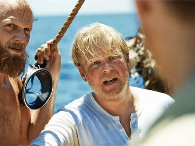 Filme Expedição Kon-Tiki, inspirado na história real de Thor Heyerdahl — Foto: Divulgação G1