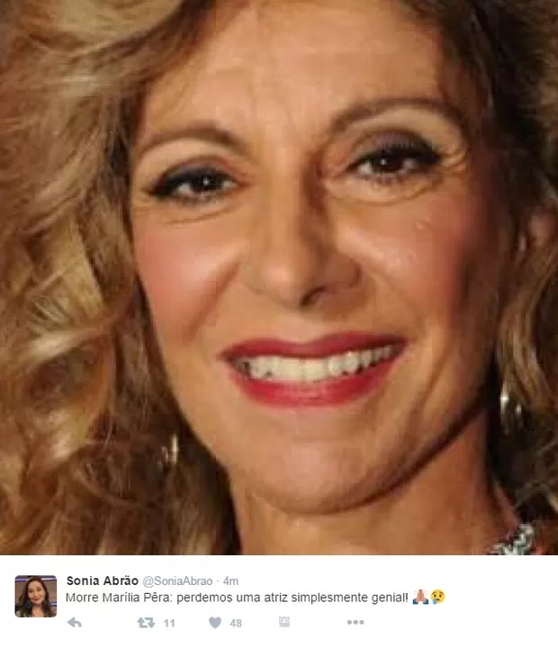 Sonia Abrão (Foto: Twitter / Reprodução)