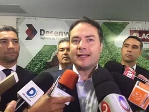 Governador também falou sobre renegociação da dívida dos estados com a União (Foto: Carolina Sanches/G1)