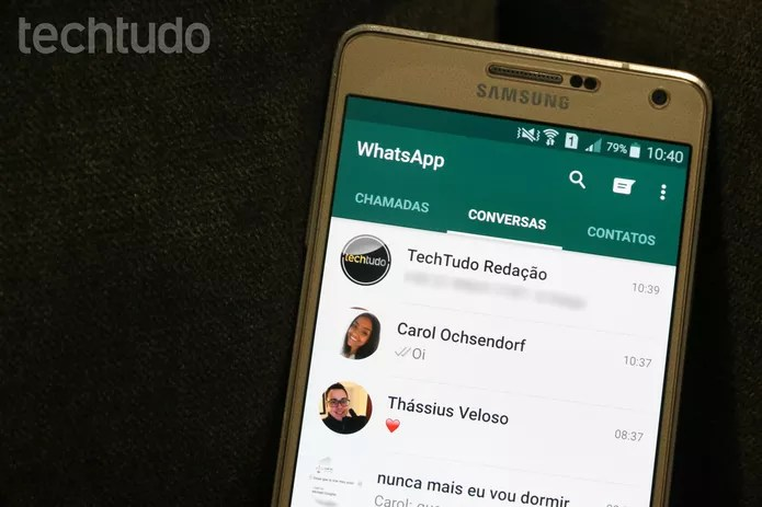 [marca] WhatsApp (Foto: Carolina Ochsendorf/TechTudo)