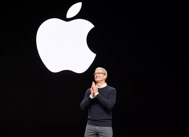 Tim Cook apresenta produtos da Apple em evento — Foto: Divulgação/Apple