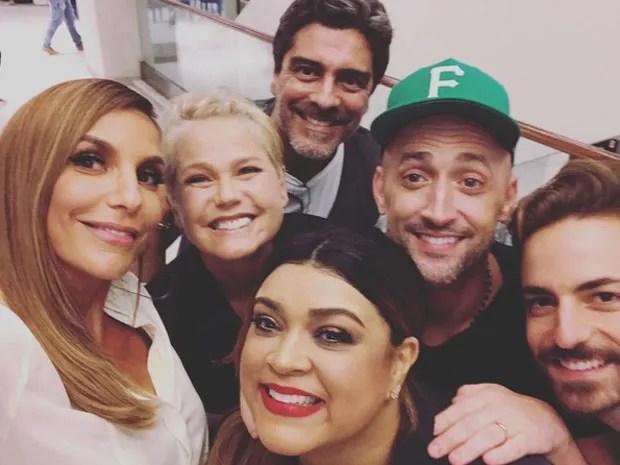 Ivete Sangalo, Xuxa, Junno Andrade, Preta Gil, Paulo Gustavo e Thales Bretas (Foto: Instagram/ Reprodução)