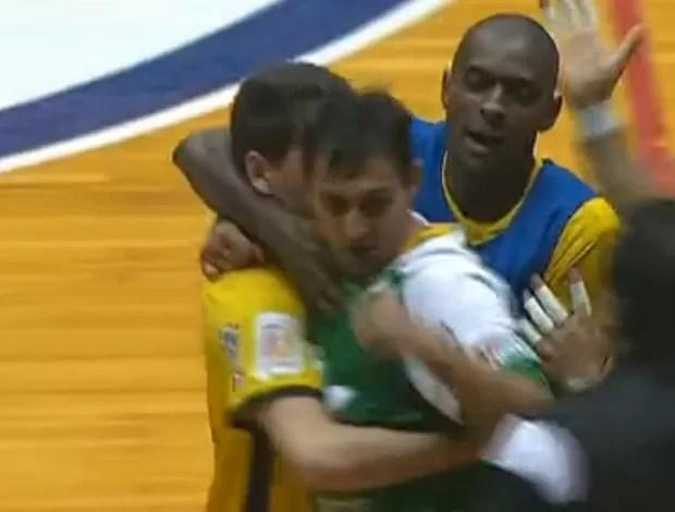 Jaraguá São Paulo liga futsal (Foto: Reprodução SporTV)