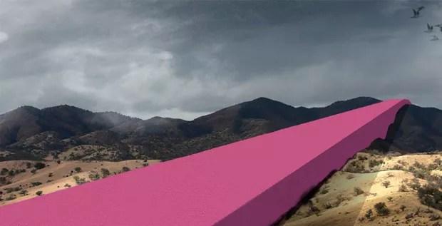 Arquitetos mexicanos criam projeto para muro de Donald Trump (Foto: Divulgação)