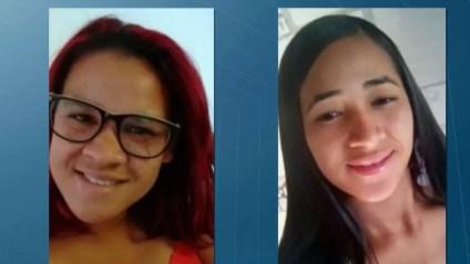 Mulheres foram estavam desaparecidas e foram encontradas mortas no dia 22 de fevereirio — Foto: TV Cabo Branco/Reprodução