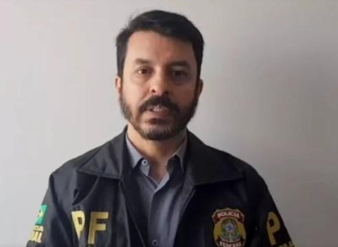 Delegado federal Márcio Tenório é um dos responsáveis pela investigação em Pernambuco. — Foto: Reprodução/PF