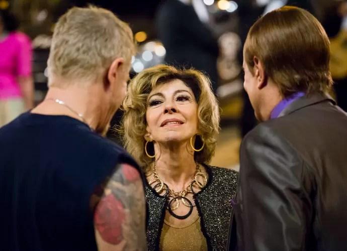 Marília Pêra está em Pé na Cova como Darlene (Foto: Tata Barreto / TV Globo)