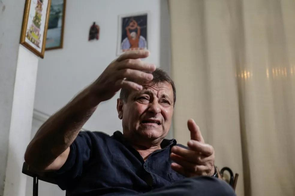 O italiano Cesare Battisti — Foto: Gabriela Biló/Estadão Conteúdo