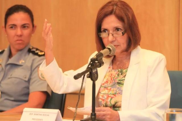 Deputada estadual e delegada Martha Rocha (PDT-RJ) — Foto: Divulgação/ Martha Rocha