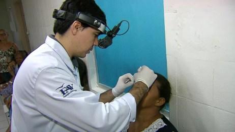Fundação Altino Ventura atende pacientes com a doença (Foto: Reprodução/TV Globo)