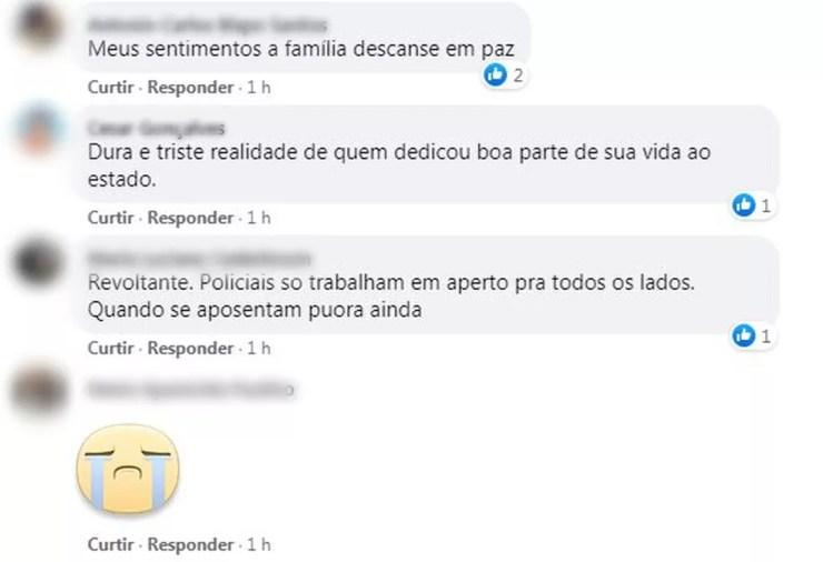 Morte de PMs em Jundiaí causa comoção nas redes sociais — Foto: Reprodução/ Facebook