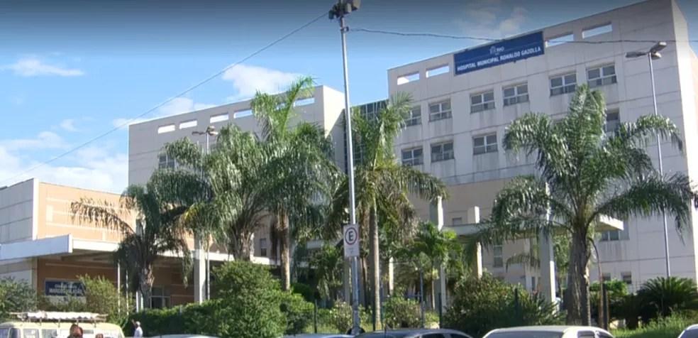 Hospital Ronaldo Gazzola, em Acari, que volta a receber pacientes de outras doenças além da Covid-19 — Foto: Reprodução