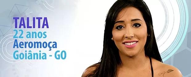 Talita (Foto: BBB/Gshow)
