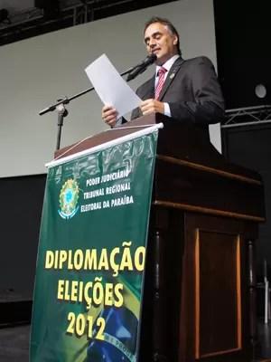 Prefeito eleito Luciano Cartaxo falou sobre como será a sua gestão (Foto: Jorge Machado/G1)