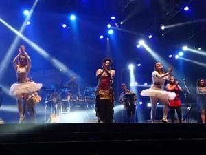 Margareth Menezes (Foto: Joalline Nascimento/ G1)