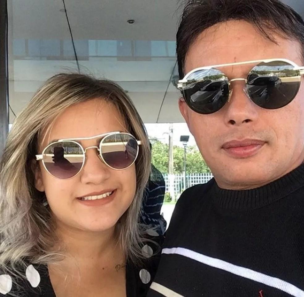 Há poucos dias, o cantor postou fotos com a sua esposa na cidade de Teresina — Foto: Arquivo Pessoal