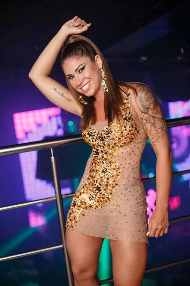 Rita Mattos, a Gari Gata (Foto: Divulgação)