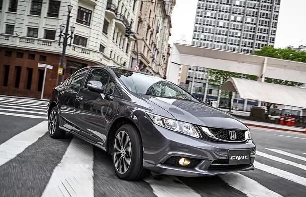 Honda Civic 2016 frente