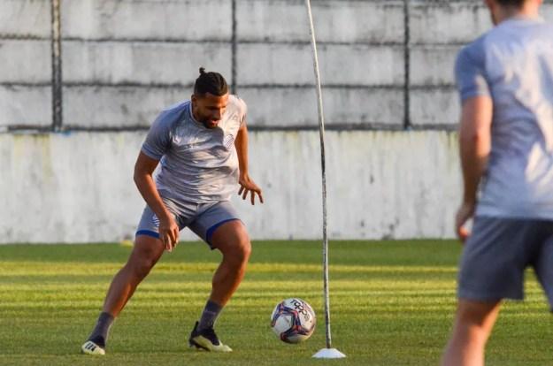 Nilson disputou apenas duas partidas pelo CSA — Foto: Augusto Oliveira/Ascom CSA