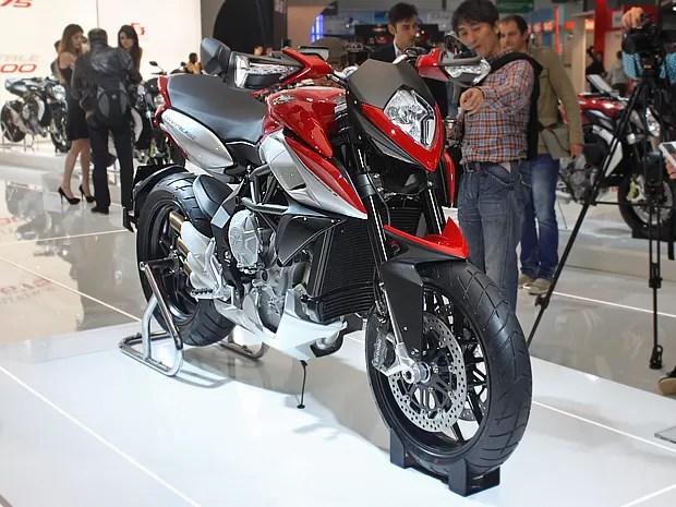 mvagustarivale - MV Agusta Rivale 800 é eleita a moto mais bela do Salão de Milão