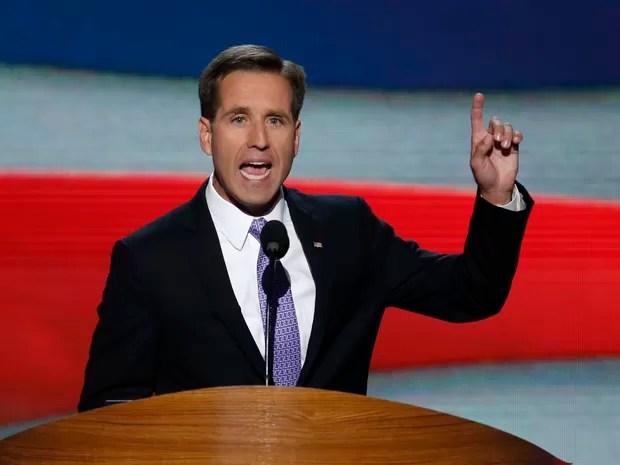 Imagem de setembro de 2012 de Beau Biden, filho do vice-presidente dos EUA, Joe Biden. Beau faleceu no sábado (30) após lutar contra um câncer no cérebro.  (Foto: Reuters/Jason Reed/Arquivo)