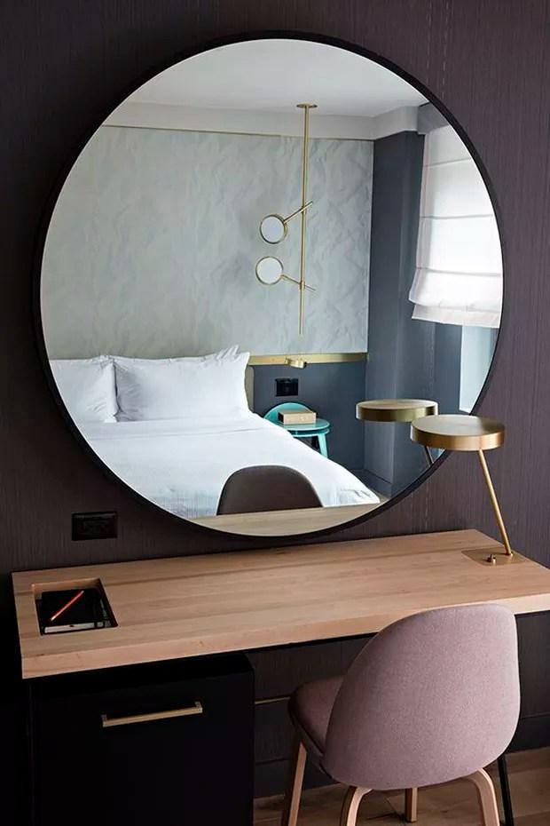 Espelho redondo 7 ambientes para se inspirar  Casa Vogue