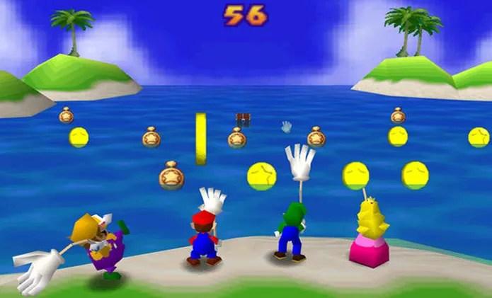 Mario Party trazia muitos minigames divertidos em uma estrutura de jogo de tabuleiro no Nintendo 64 (Foto: Reprodução/GameFaqs) (Foto: Mario Party trazia muitos minigames divertidos em uma estrutura de jogo de tabuleiro no Nintendo 64 (Foto: Reprodução/GameFaqs))