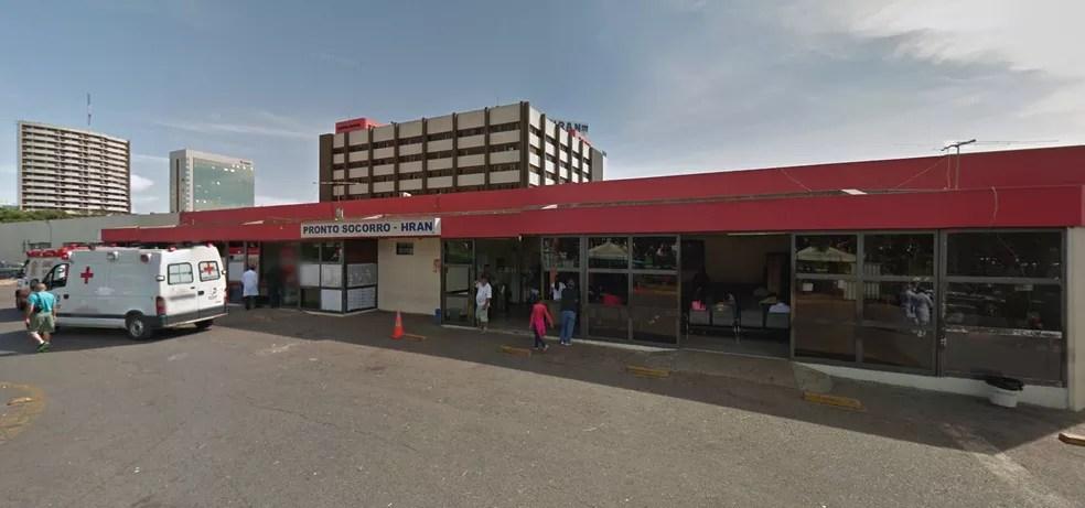 Fachada do Hospital Regional da Asa Norte (Hran), no DF — Foto: Google/Reprodução
