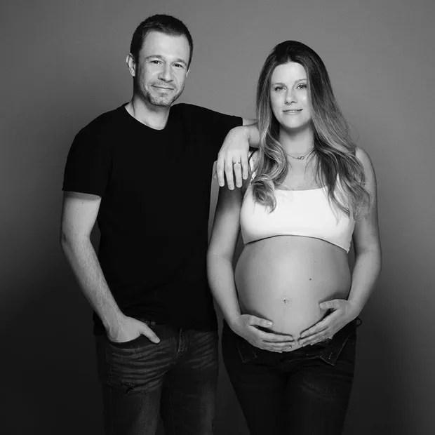 Nasce a filha de Tiago Leifert e Daiana Garbin (Foto: Reprodução/Instagram)