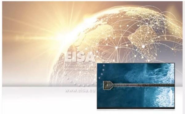 Televisor LG OLED65E9 foi eleito como o melhor modelo de TV OLED do mundo — Foto: Divulgação/EISA