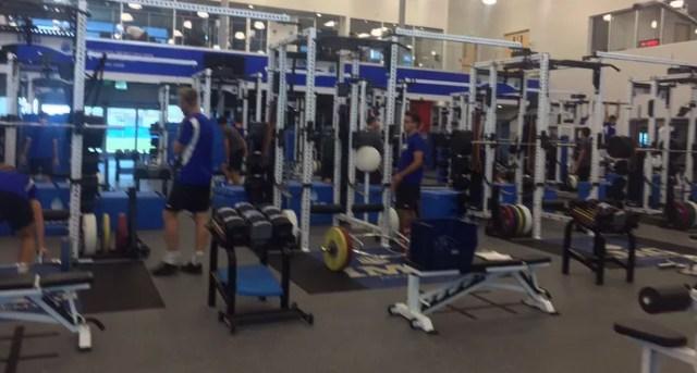 Sala de musculação IMG Academy (Foto: Divulgação)