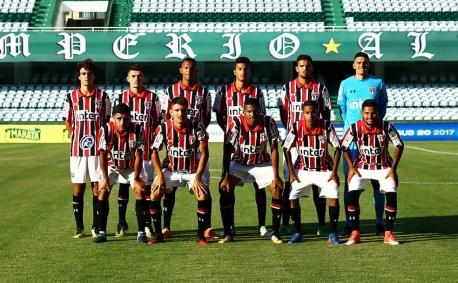 Time sub-20 do São Paulo enfrenta o Coritiba pela semifinal do Brasileiro (Foto: Heuler Andrey/DiaEsportivo/saopaulofc.net)