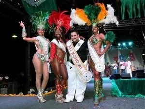 Realeza é eleita para o carnaval de 2013 em Campinas (Foto: Carlos Bassan)