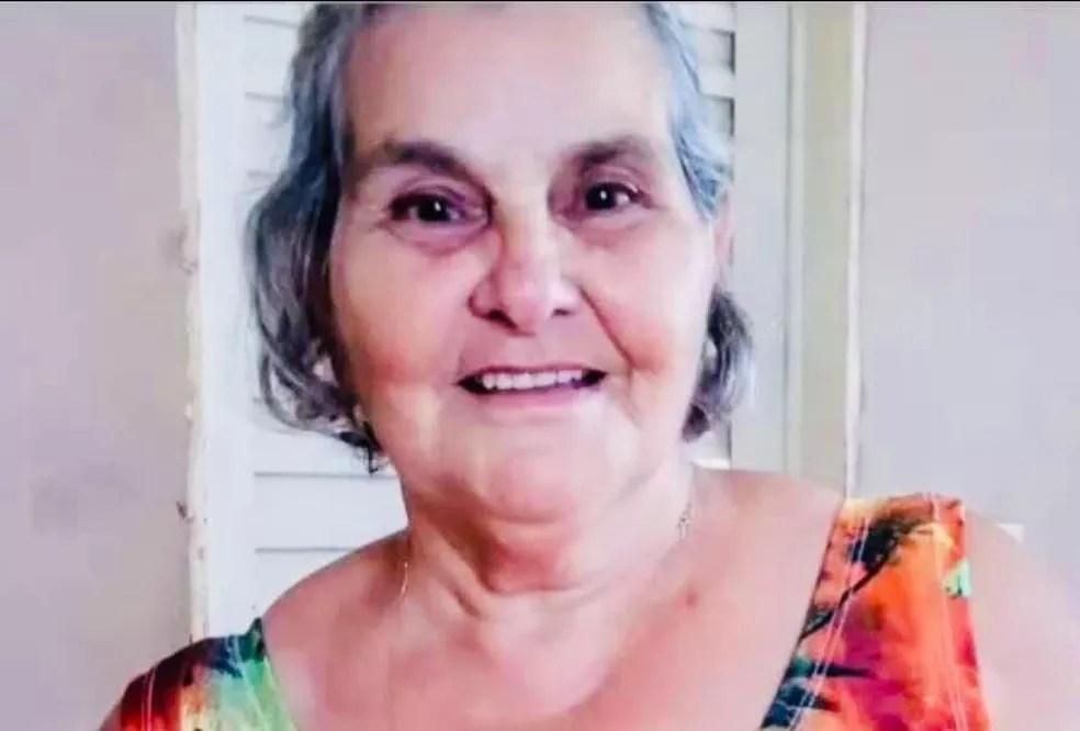 Família diz que dona Isaura faleceu após ter sido diagnosticada com Covid — Foto: Redes Sociais/Reprodução