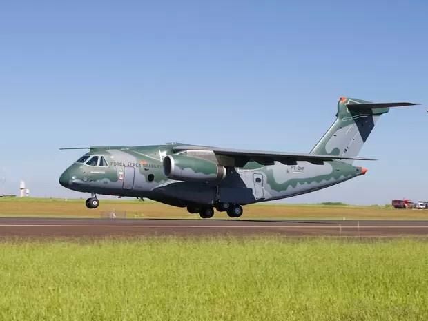 Embraer fez testes em avião militar da FAB. (Foto: Dilvulgação/Embraer)
