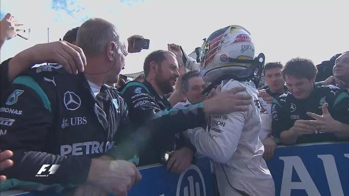 Lewis Hamilton vence GP dos EUA de Fórmula 1 (Foto: Divulgação)