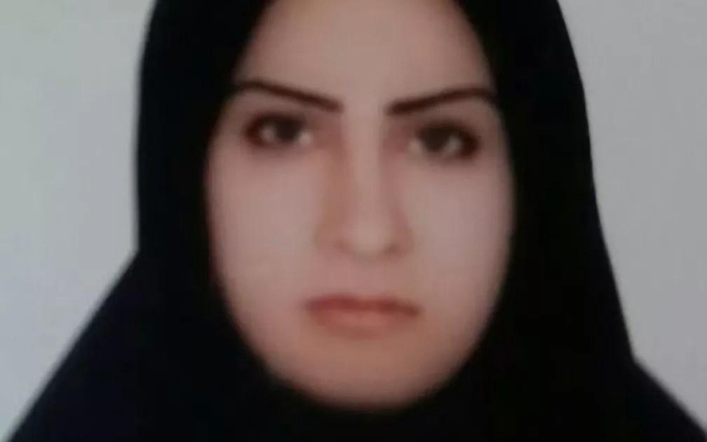 Foto não datada de Zeinab Sekaanvand, executada por autoridades iranianas pela morte de seu marido — Foto: HO/Amnesty International/AFP