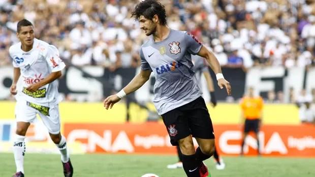 Bragantino x Corinthians. Foto: (Reprodução/Rede Globo)