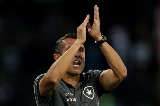 Bruno Lazaroni — Foto: Vitor Silva/SSPress/Botafogo